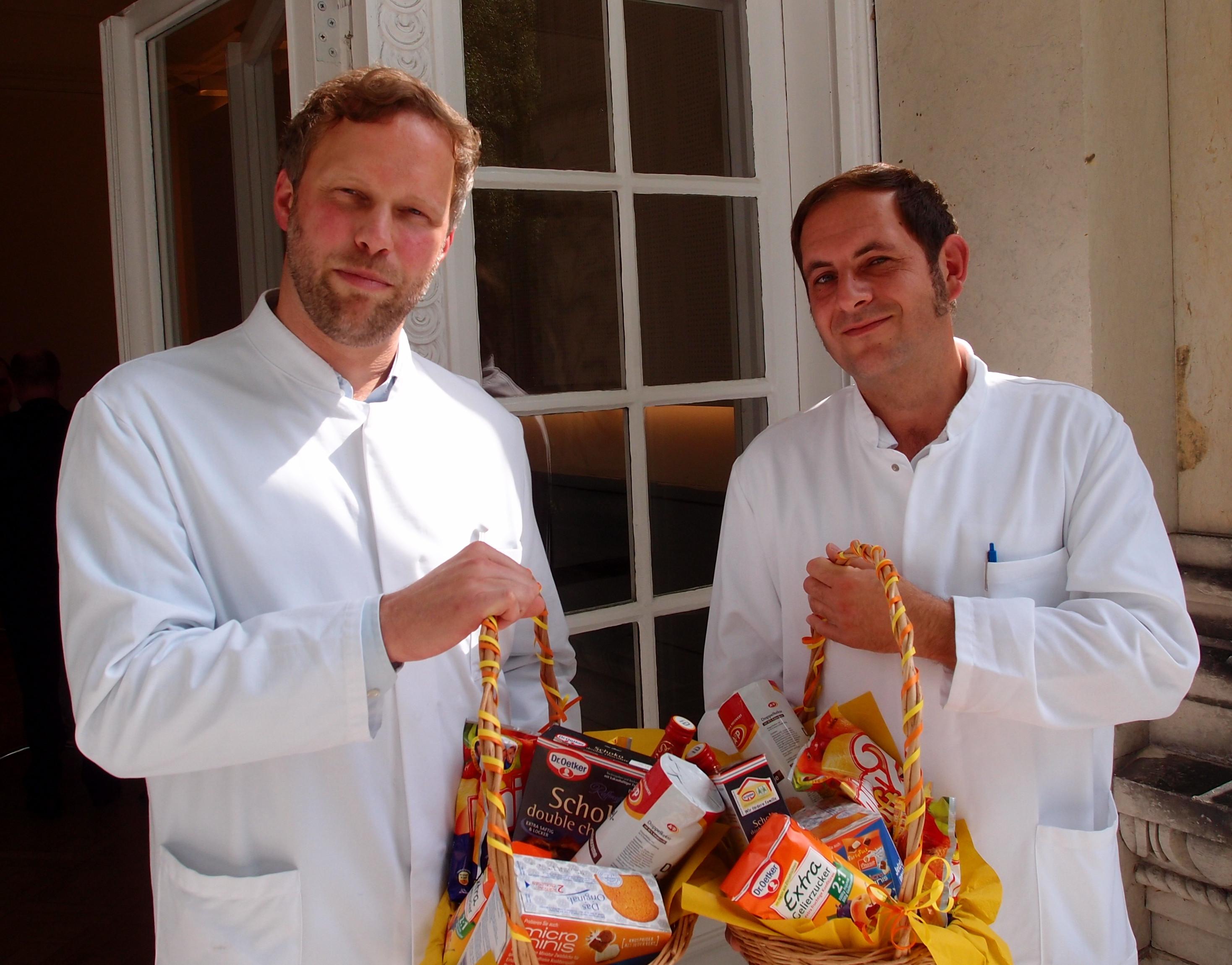 Chefärzte Obere Extremität, Hand- und Mikrochirurgie Dr. Michael Berndsen und Georg Garanin