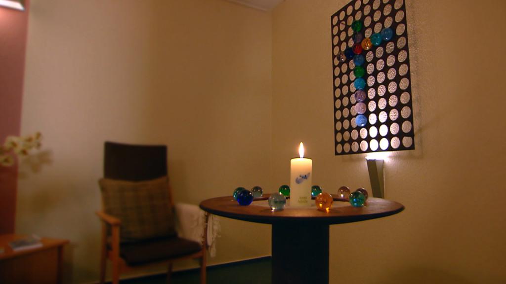 Raum der Stille im Diakonie-Hospiz Wannsee