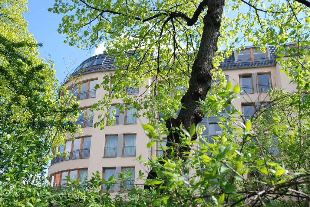 Blick auf das Seniorenzentrum Schöneberg in Berlin