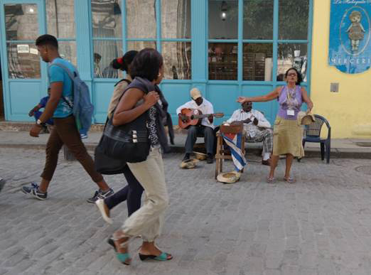 In Havanna spielt sich das Leben auf der Straße ab