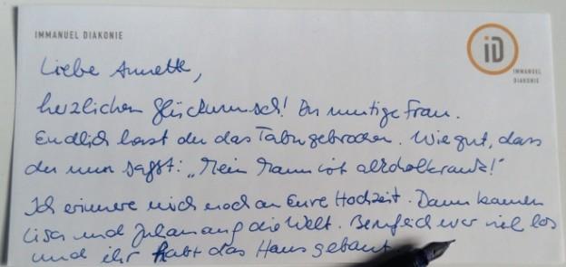 An den freund brief Ein Brief